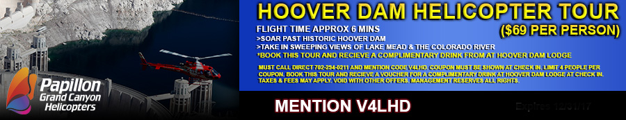 Hoover Dam Heli Tour Coupon