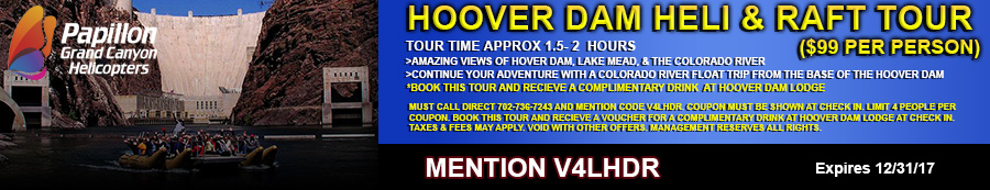 Hoover Dam Heli and Raft Tour Coupon