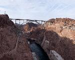 The Mike O'Callaghan – Pat Tillman Memorial Bridge Las Vegas, also known as the Hoover Dam Bypass Bridge