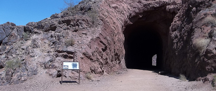Lake Mead Railroad Tunnel Trail