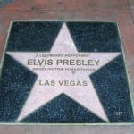 Las Vegas Walk of Stars - Elvis