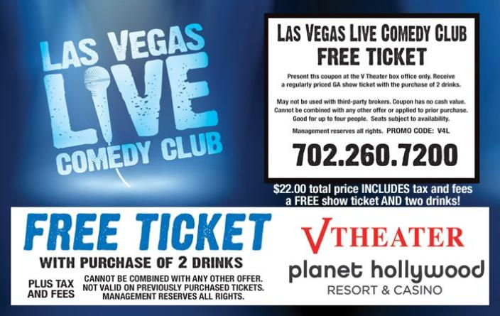 Las vegas show discounts coupons