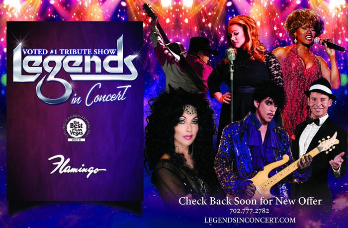 Legends Concert Discount Coupon 2016