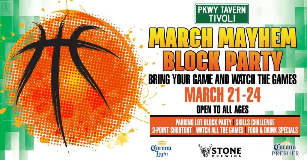 March Mayhem Block Party
