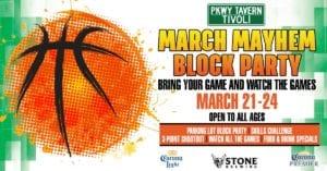 March Mayhem Block Party