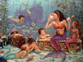 Mermaid Cove Art Gallery Silverton Hotel Las Vegas