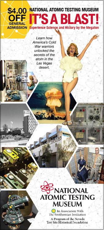 National Atomic Testing Museum Coupon
