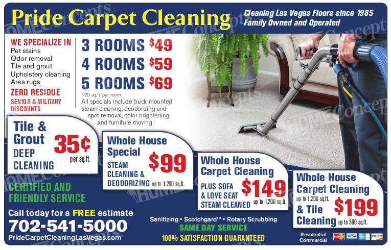 Pride Carpet Cleaning Vegas4locals Com