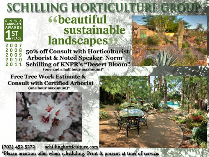 Schilling Horticulture Las Vegas landscaping Coupon