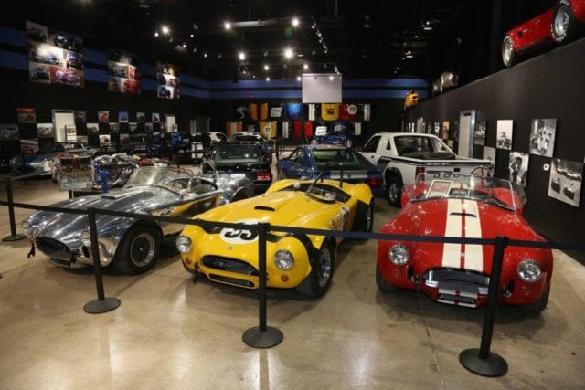 Shelby Tour Museum Showroom Las Vegas