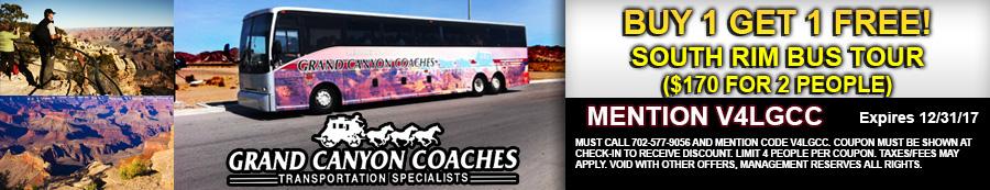 South Rim Bus Tour Coupon