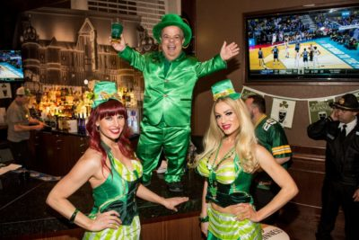 St. Patrick's Day Block Party at The Linq