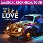The Beatles LOVE by Cirque du Soleil's Magical Technical Tour