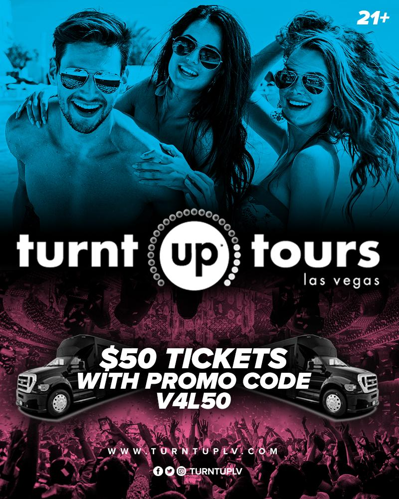 Turnt Up Tours Discount Coupon
