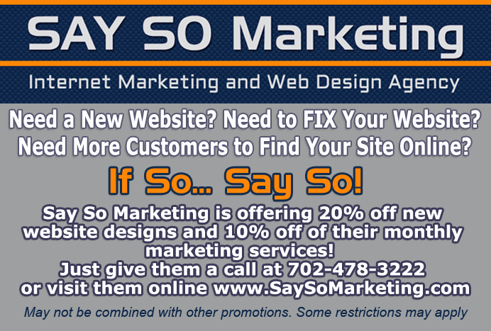 Say So Marketing Discount Coupon