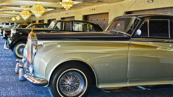 Wayne Newtons Car-Collection