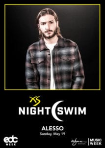 XS Nightswim Party with Alesso