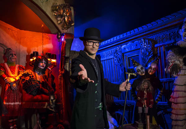 Zak Bagans Haunted Museum Coupon