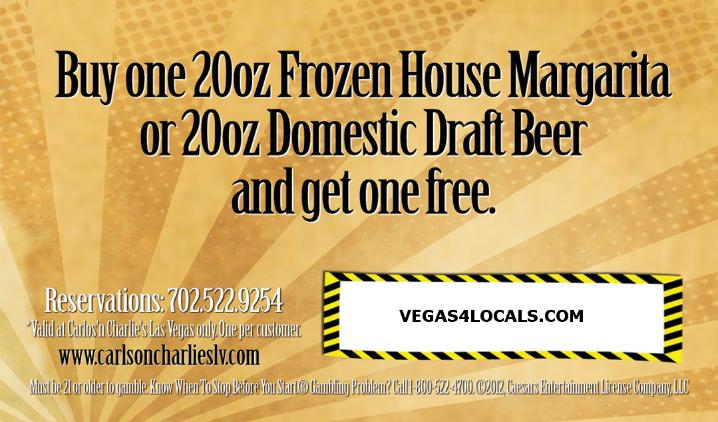 Las vegas restaurant coupons printable