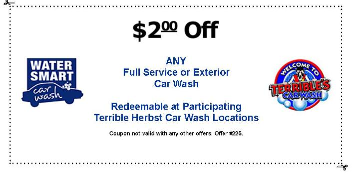 Las Vegas Car Wash Coupons - Water Smart