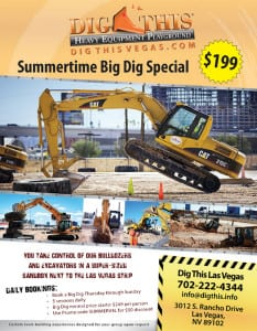 Dig This Coupon Las Vegas Heavy Equipment Playground