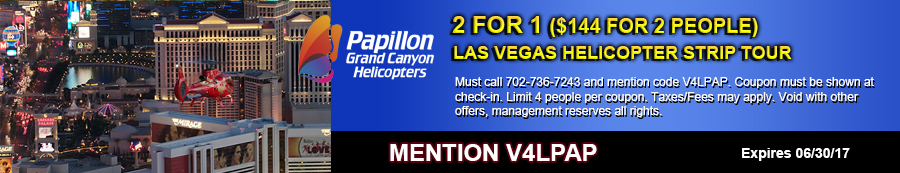 Helicopter Strip Tour Coupon