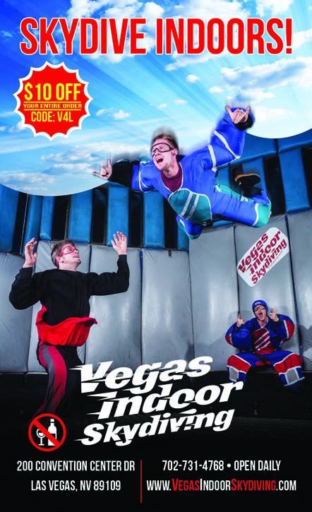 Las Vegas Skydiving Coupon