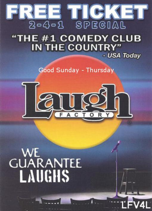 Laugh Factory Comedy Club at the Tropicana Las Vegas
